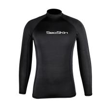 Seaskin Long Sleeve Surf Rash Suits For Mens