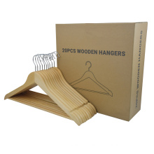 Top quality custom wooden coat hangers stand for clothes