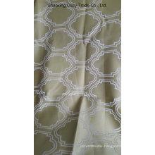 Square Design Jacquard Yarn Dyed Decorative Fabric
