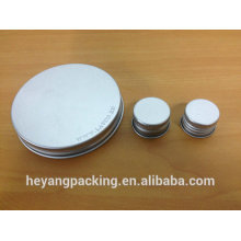 aluminium cap for cosmetic packaging bottle
