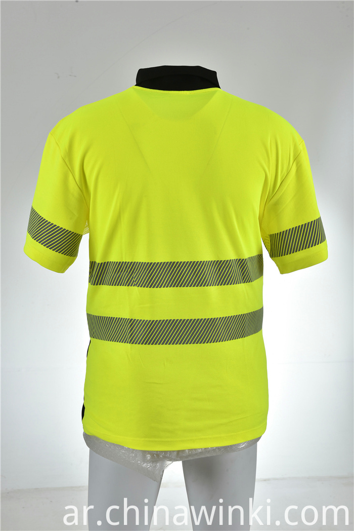 reflective safety shirt