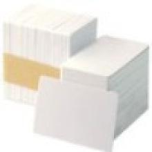 Пластиковая ПВХ-карта нового белого пластика белого цвета