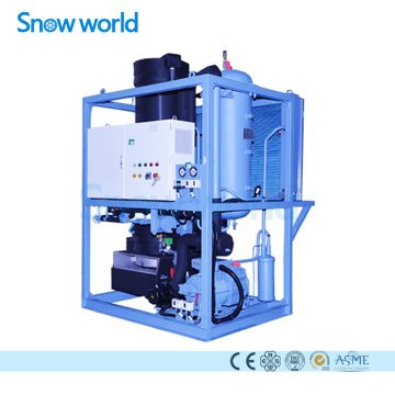 Snow world Tube Льдогенератор Machine Commercial