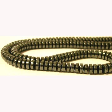 Hematite Disc Beads(Thick) 6MM