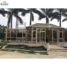 Polycarbonat Aluminium Sunroom Glass House Winter Garden