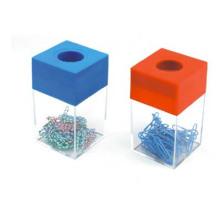 Dispensador magnético promocional del clip / sostenedor plástico del clip de Fashional