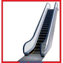 Подъемник эскалатора с нарушенной ступенчатой контактной функцией