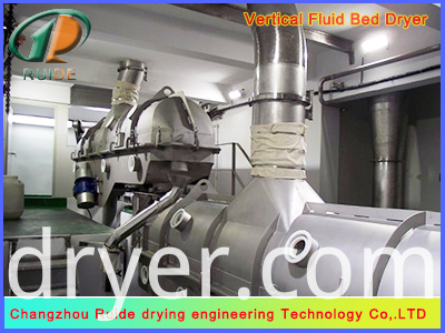 ZLG Series Vibration Fluidized Bed Dryer for Particles