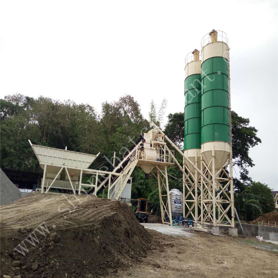 40 Mobile Concrete Batch Plant