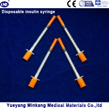 Jeringas de insulina desechables de 1cc Jeringas de insulina de 0.5cc Jeringas de insulina 0.3cc (ENK-YDS-050)