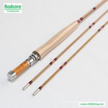 7FT6in 3wt Splitted Tonkin Bambus Fliegen Rod