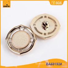 Fashion Design UV Plating Plastic Button BA60192