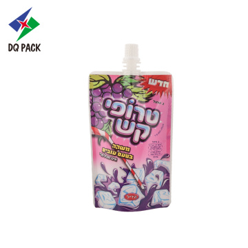 Venta directa de fábrica Stand Up Grape Juice Pouch