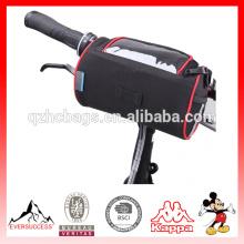 Bolsa plegable impermeable del PVC del bolso del manillar delantero de la bici que completa un ciclo la bolsa transparente del PVC para el mapa al aire libre