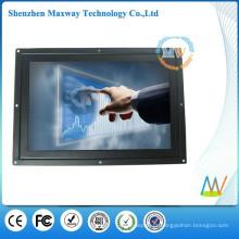 resolução 1280 * 800 tela sensível ao toque de 12 polegada monitor de lcd de quadro aberto de 12 volts