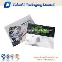 sacos de isca de plástico macio personalizado logotipo para pesca worm com ziplock resealable