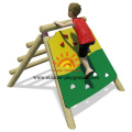 Playhouse de madera Climber Net Panel Wall Playhouse