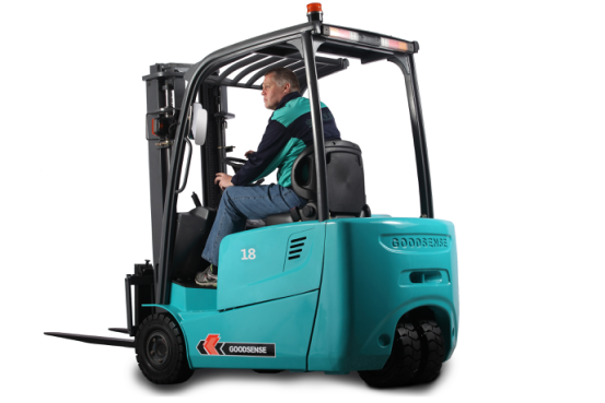 Dual Front Wheel Drive Electric Forklift