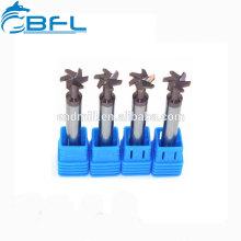 BF Herramientas de corte especiales Cortador de herramientas de fresado de carburo con ranura en T