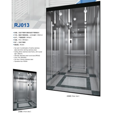 High Speed Safety Passenger Elevator