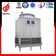 125m3 / h Gegenstrom FRP Quadratischer Wasserkühlturm China Made
