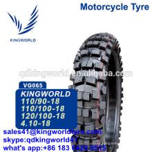 Enduro Dirt Motocross Tyres 110/100-18 , 120-100-18 Motocross Tyre 18 Factory