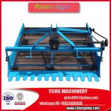 A máquina agrícola 2 colhe o trator montado Jm da batata