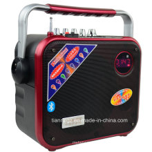 Altavoz de etapa ligera de 3 pulgadas Tweeter LED con FM, USB, SD, control remoto F83