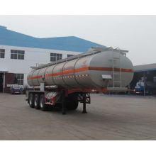 10.6m Tri-axle Corrosive Liquid Transport Semi Trailer
