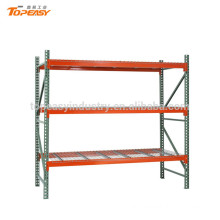 heavy duty selective pallet rack for warehouse