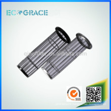 Stainless steel baghouse filter cage for dust extraction
