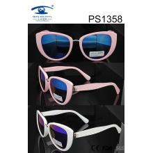 Cat Eye Style PC Sunglasses (1358)
