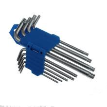 9 PCS Comprimento Médio Duplo cabeça Torx Key Set