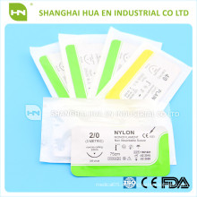 Chirurgische Nylon Nähte CE ISO in China für Krankenhaus gemacht