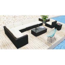 New Model Outdoor Patio Rattan Wicker Garden Leisure Sofa Set