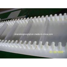 White Rubber Sidewall Conveyor Belt