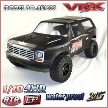 2.4G RC 1/10 Scale 4WD Nitro Powered RC Car, High Speed RC CAR