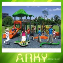 2015 New Design Kids Plastic Sliding Outdoor Playground