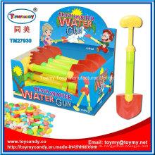 Plastikspielzeug-Wasser-Shooter-Strand-Spielzeug mit Süßigkeit für Kinder
