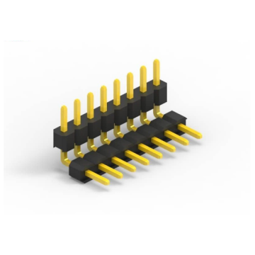 1.27mm Pitch Single Row Double Plastic H1.7 / 2.5