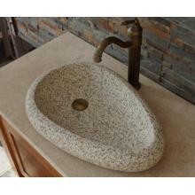 Gold Ma granite stone basin