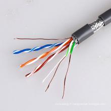 Câble Ethernet SF5 CS5 Cat5e industriel pour les routeurs et commutateurs