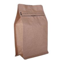 OEM Блок Оптовая Биоразлагаемые Пищевая Упаковка Производитель Пластиковые Нижние Кофейные Пакеты с Клапаном