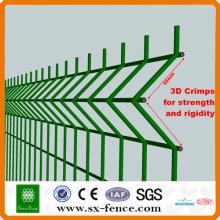El panel de malla de alambre soldada con autógena galvanizado / el PVC cubrió con autógena el panel de malla de alambre / el acero inoxidable (fábrica / fabricante)