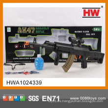 Nuevo arma del francotirador del juguete del color sólido del diseño los 67CM con el infrarrojo y los vidrios (bomba cristalina 1200)
