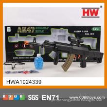 Novo Design 67CM pistola de sniper de brinquedo de cor sólida com infravermelho e óculos (bomba de cristal 1200)