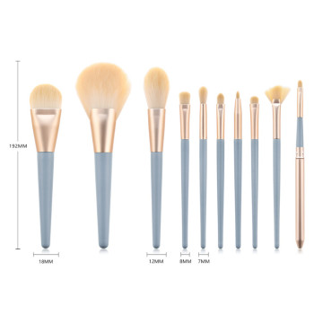 Professionelles Set mit 10 Make-up-Pinseln