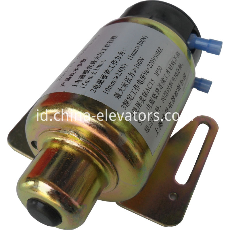 XS1-25 Electromagnetic Solenoid for MRL Elevator Overspeed Governors
