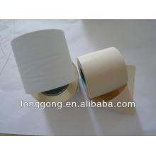 Glacis blanc envelopper le tube de raccordement air conditon tube en PVC