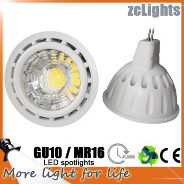 LED GU10 MR16 Ponto 6W CRI> 80 LED Spotlight (MR16-A6)